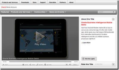 Oracle BI Mobile App Release & Demo Showcase - ClearPeaks