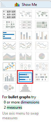 bullet graph in tableau clearpeaks
