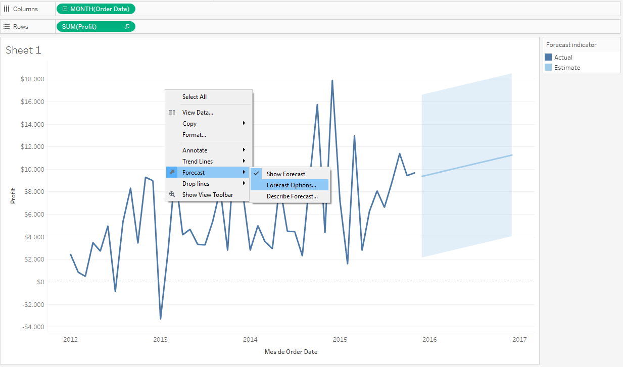 Forecast data from OLAP Cubes with R & Tableau - ClearPeaks Blog