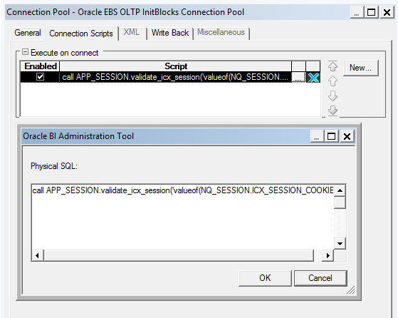 OBIEE12c Integration with Oracle EBS Security