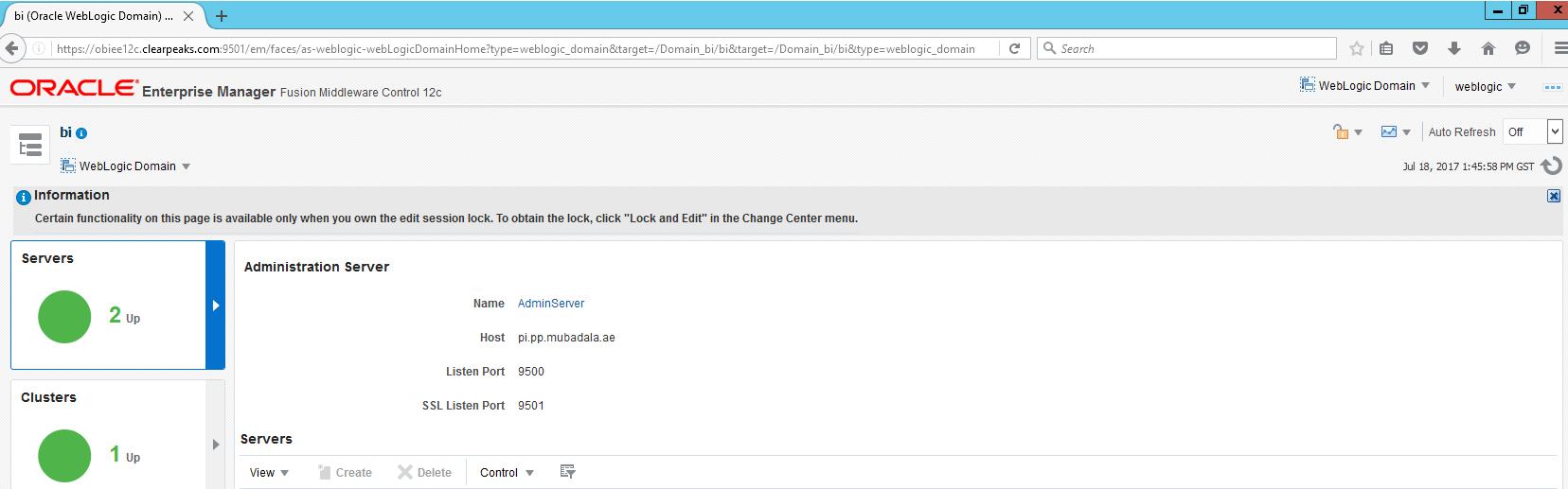 Configuring SSL for OBIEE 12C - ClearPeaks
