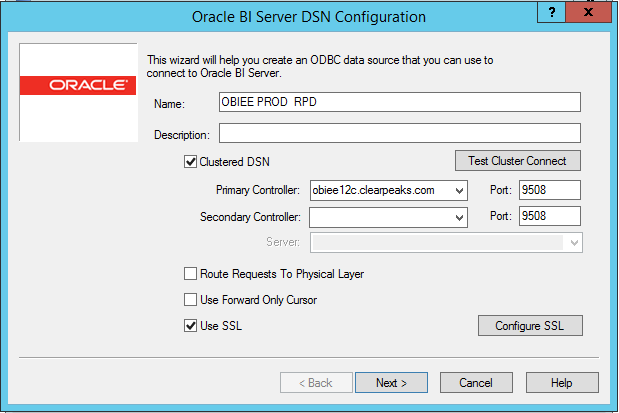 Configuring SSL for OBIEE 12C - ClearPeaks